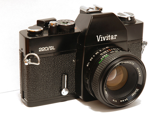 Vivitar 220/SL - My first SLR camera